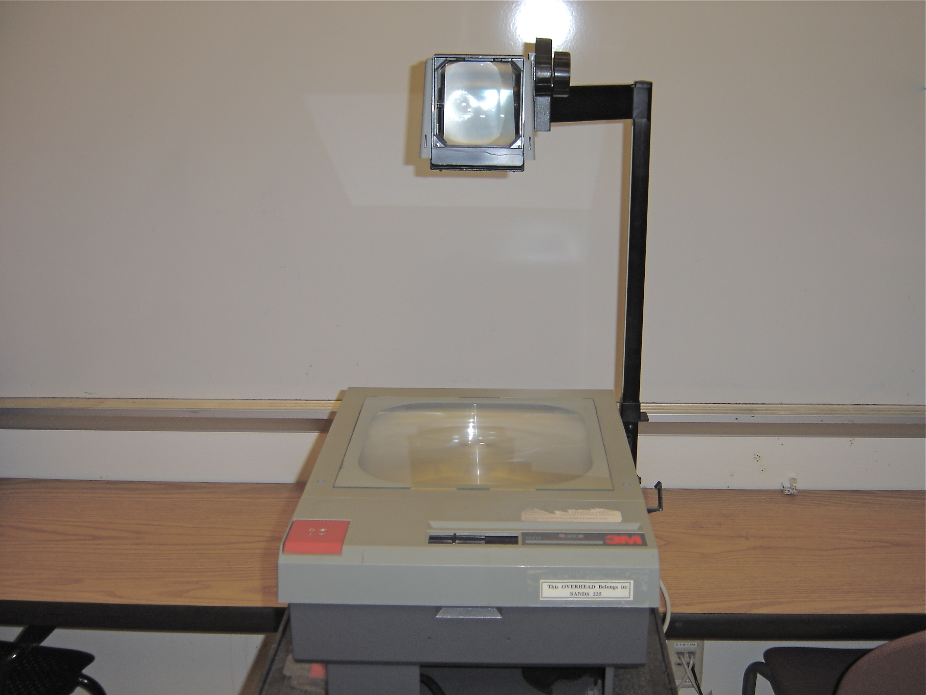 Overhead projector meddic for Overhead project